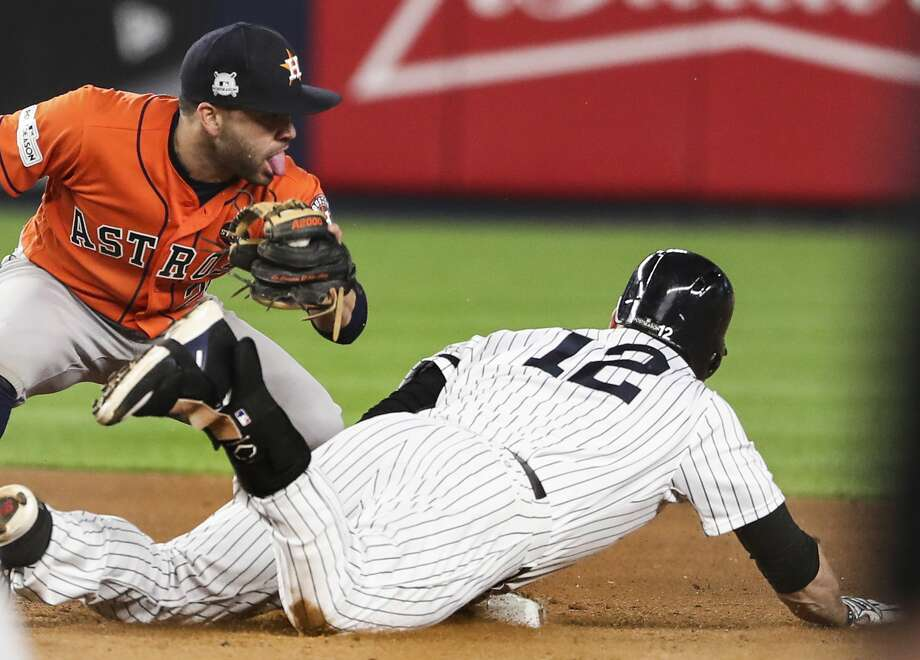 Image result for headley avoids tag game 4 alcs