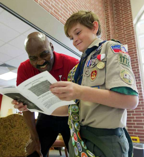 Young Woodlands Boy Scout Soaring Lofty Goal - Houston