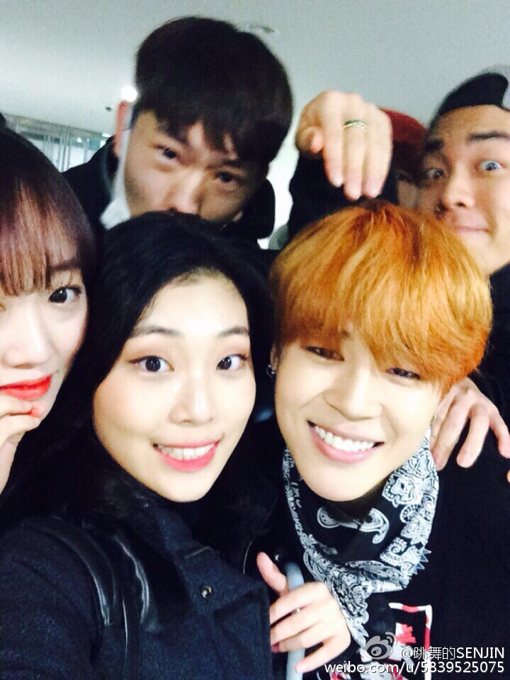 Picture/Weibo] BTS Jimin High School Friend posted a picture with