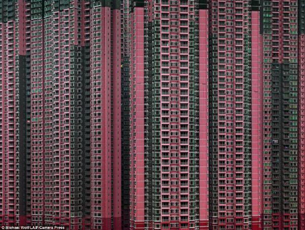 密集恐怖的香港大楼[23P](慎入)