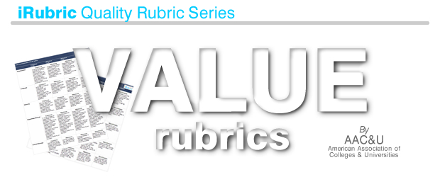 VALUE Rubrics: RCampus Learning Technologies at Your