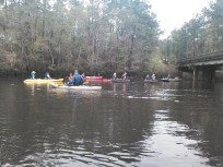 1600x1200 Waiting for Bret and the last six paddlers, in Start to Finish, by John S. Quarterman, for WWALS Watershed Coalition, Inc., 29 March 2014