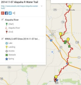522x544 ARWT South Legend, in Alapaha River Water Trail draft map, by John S. Quarterman, for WWALS.net, 7 November 2014