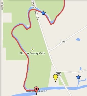 340x374 ARWT South Springs, in Alapaha River Water Trail draft map, by John S. Quarterman, for WWALS.net, 7 November 2014