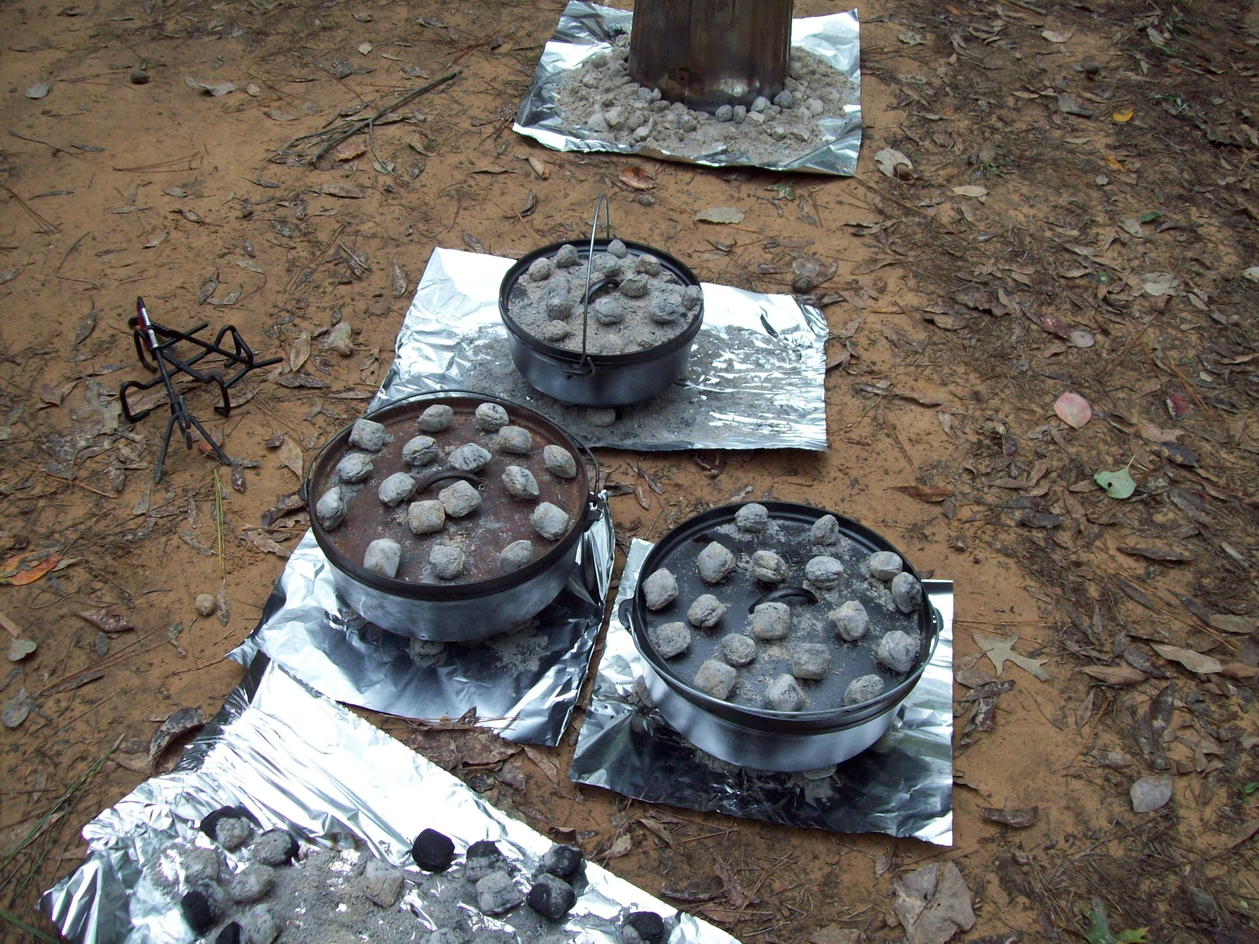 Dutch Oven Cooking - Click picture for more pics