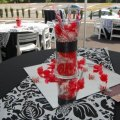 Black red white edible wedding favors photos amp pictures weddingwire