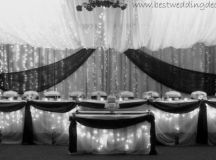 Black Silver White Fall Indoor Reception Spring Summer ...