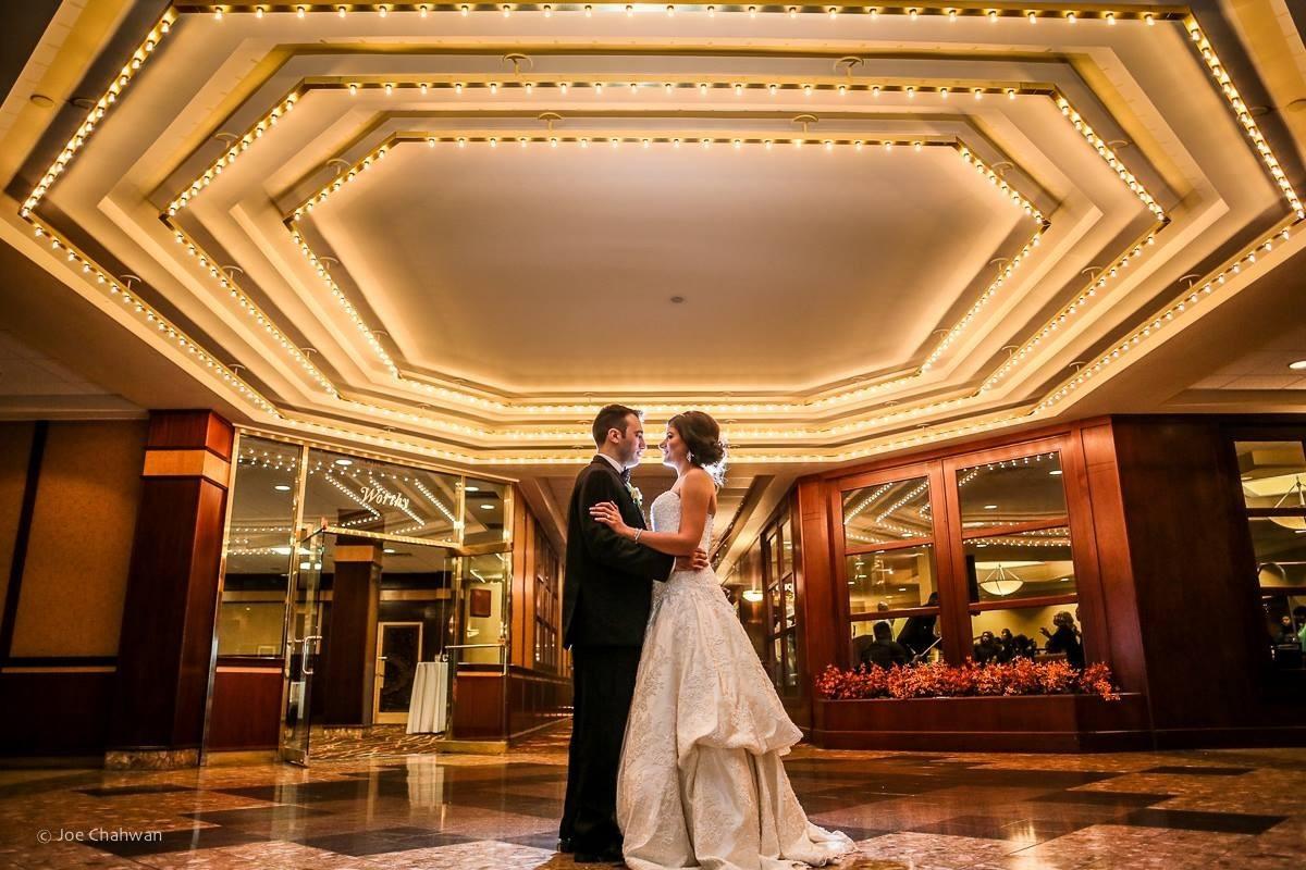 Sheraton Springfield Monarch Place Hotel Wedding Ceremony  Reception Venue Massachusetts