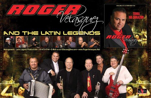 Roger Velasquez  The Latin Legends  San Antonio TX Wedding Band