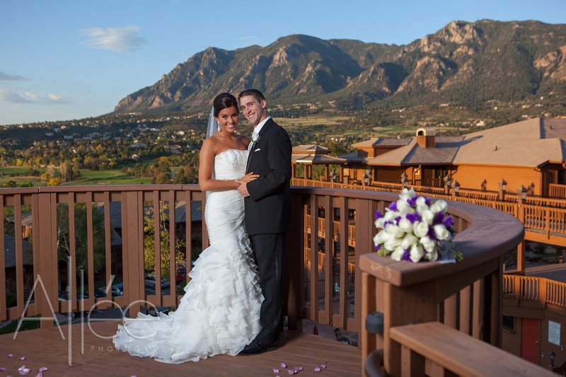 Cheyenne Mountain Resort Wedding Ceremony  Reception
