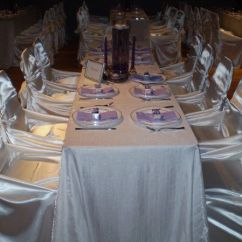 Chair Cover Alternatives Wedding Tan Leather Accent Elezye's Elegant Cover-ups - Event Rentals Brooklyn, Ny Weddingwire