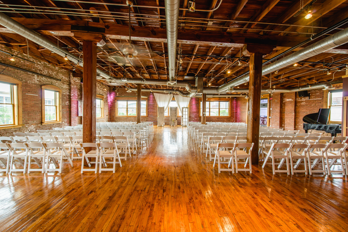 Mavris Arts  Event Center Wedding Ceremony  Reception Venue Indiana  Indianapolis