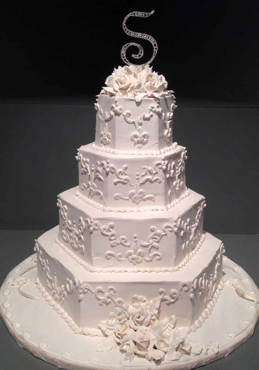 Swiss Confectionery  Wedding Cake  New Orleans LA  WeddingWire