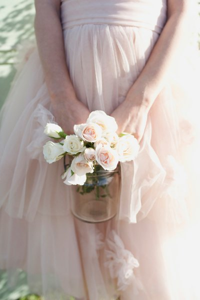 Flower Girl Bouquets Wedding Flowers Photos by Christa Elyce  Photographer  Image 1 of 8