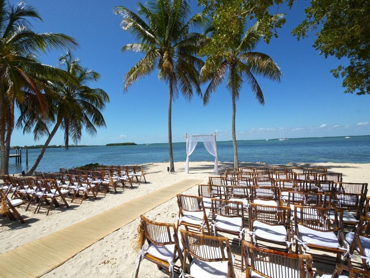 Key Largo Lighthouse Beach Weddings Wedding Ceremony
