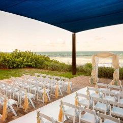 Wedding Chair Covers Melbourne And A Half Recliner Leather Hilton Beach Oceanfront - Melbourne, Fl Venue