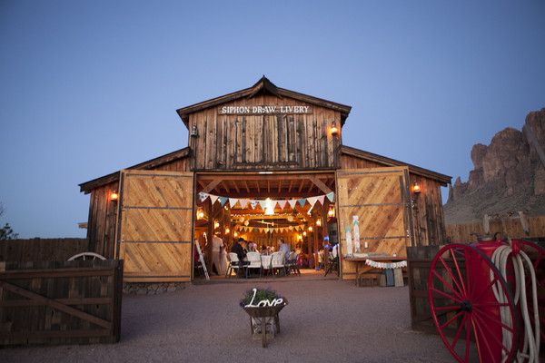 Mining Camp Restaurant our Rustic Barn  Apache Junction