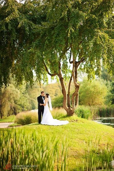 Les Jardins Ambler PA Wedding Venue