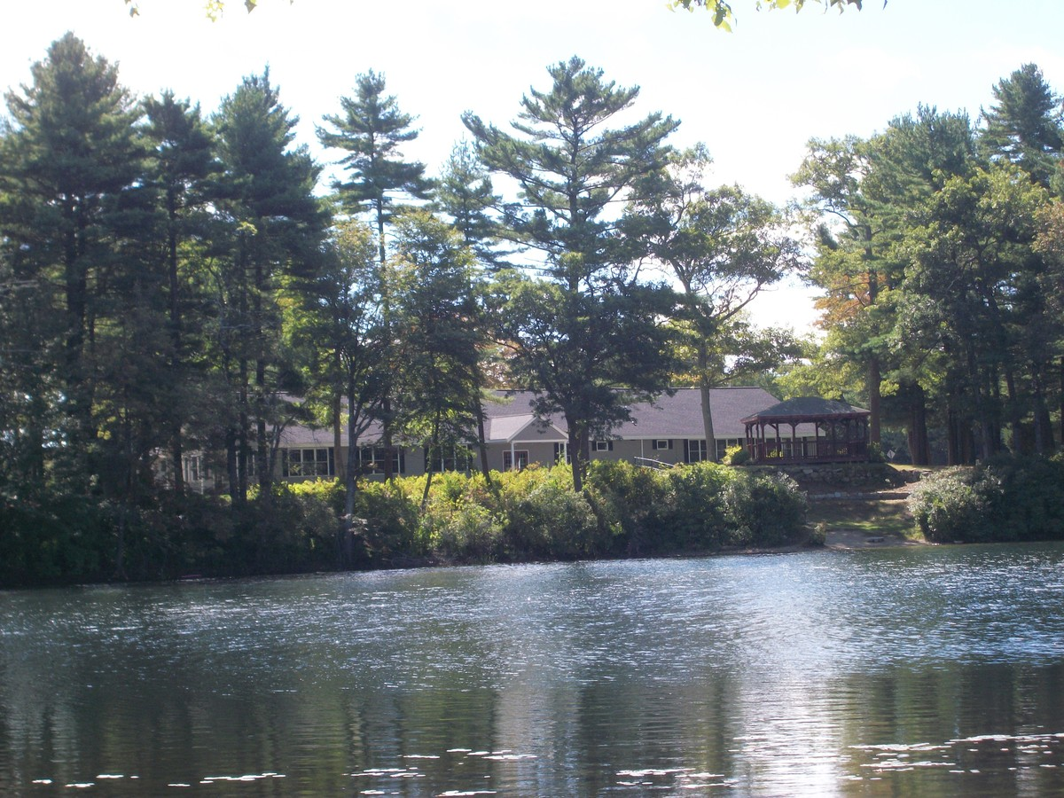Loon Pond Lodge at Ted Williams Camp Wedding Ceremony  Reception Venue Massachusetts  Boston