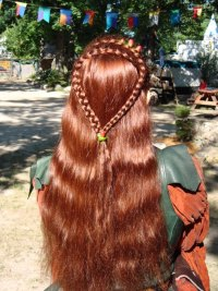 French Braids by Twisted Sisters | Houston Wedding hairstyles