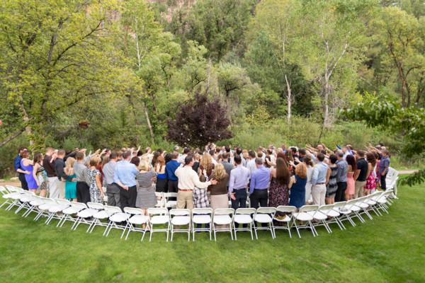 Kohls Ranch Lodge Payson Payson AZ Wedding Venue