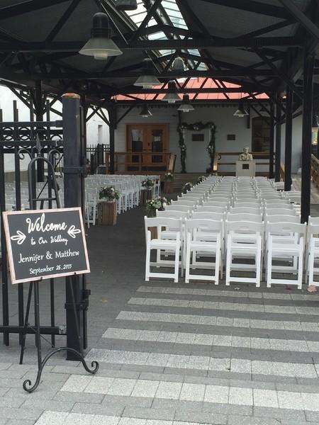 Gettysburg Lincoln Railroad Station  Gettysburg PA Wedding Venue