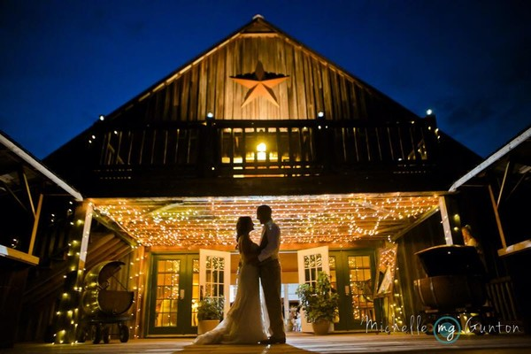 The Barn at Woodlake Meadows  Bear Creek NC Wedding Venue