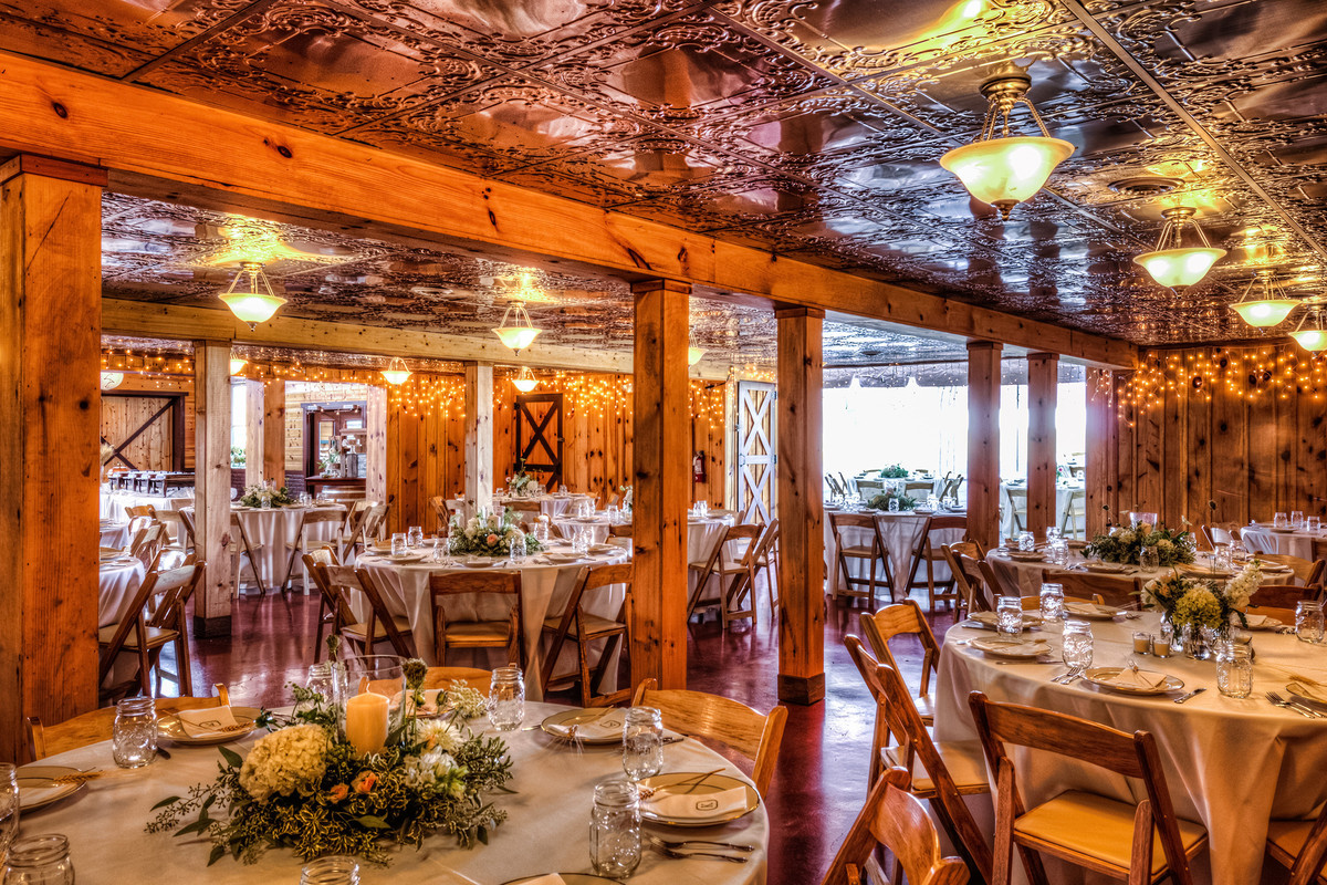 The Barn at Klines Mill Wedding Ceremony  Reception Venue Virginia  Richmond