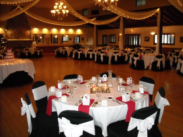 classic event chair covers swivel chairs for living room springvale golf course and ballroom - north olmsted, oh wedding venue
