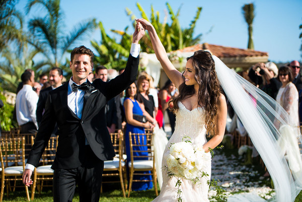 Elegant California Estate Wedding Real Wedding Photos By