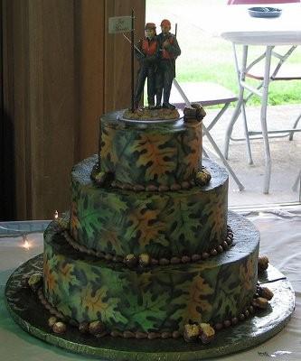 Mossy Oak Camo Wedding Cakes Weddings Planning