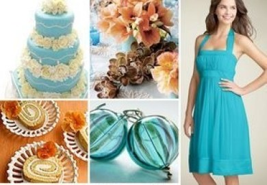 Beach Wedding Color Scheme Weddingwire