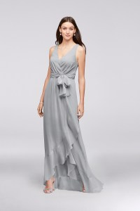 David's Bridal F19748 Sheath Bridesmaid Dress by David's