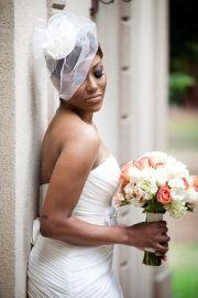 wear veil with wedding