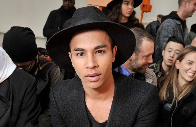 Olivier rousteing's house is located in paris, france. Olivier Rousteing Partner : Balmain's Olivier Rousteing ...