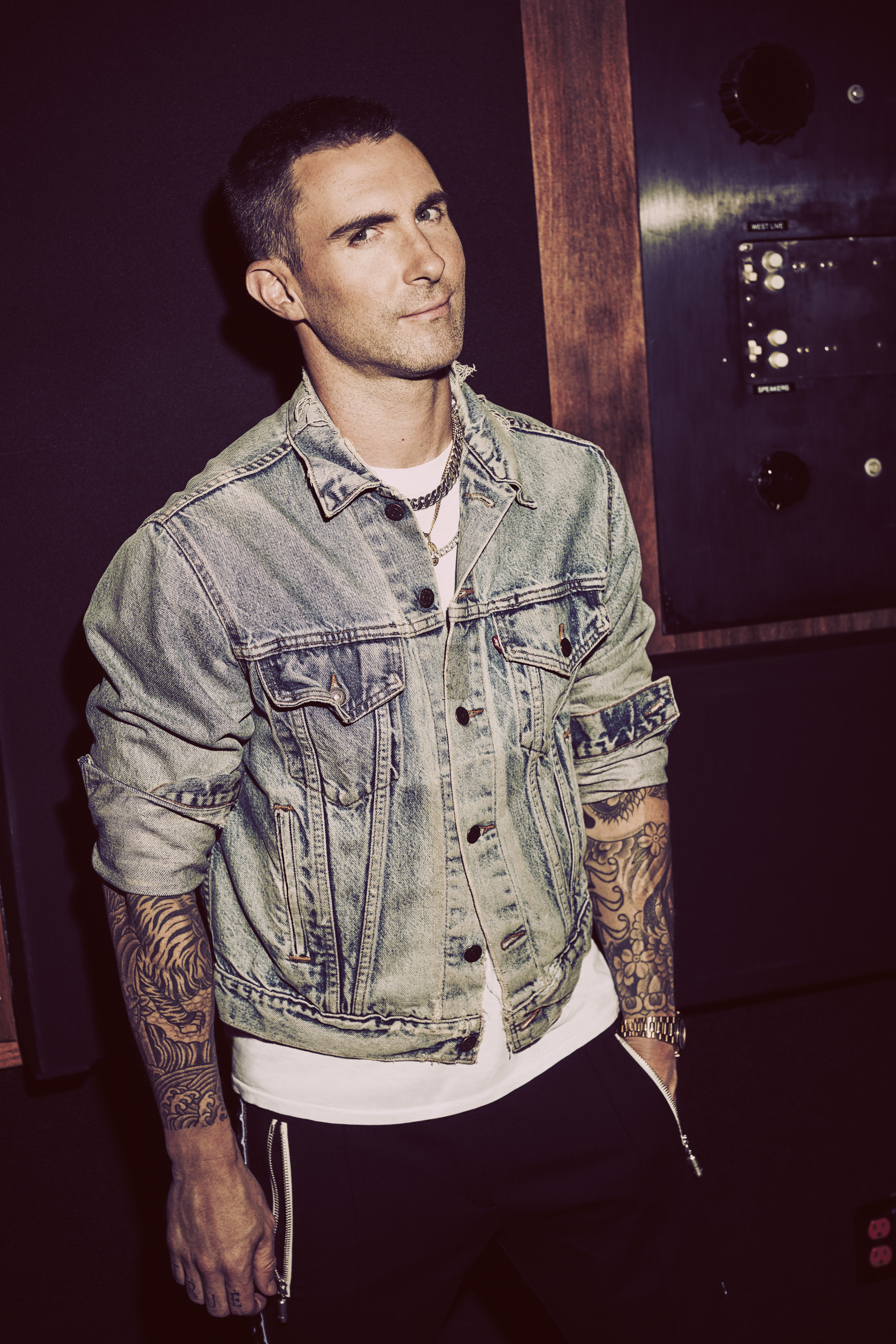 Adam Levine Jewelry : levine, jewelry, EXCLUSIVE:, Levine, Named, Spokesperson, L'Oréal, Paris, Expert