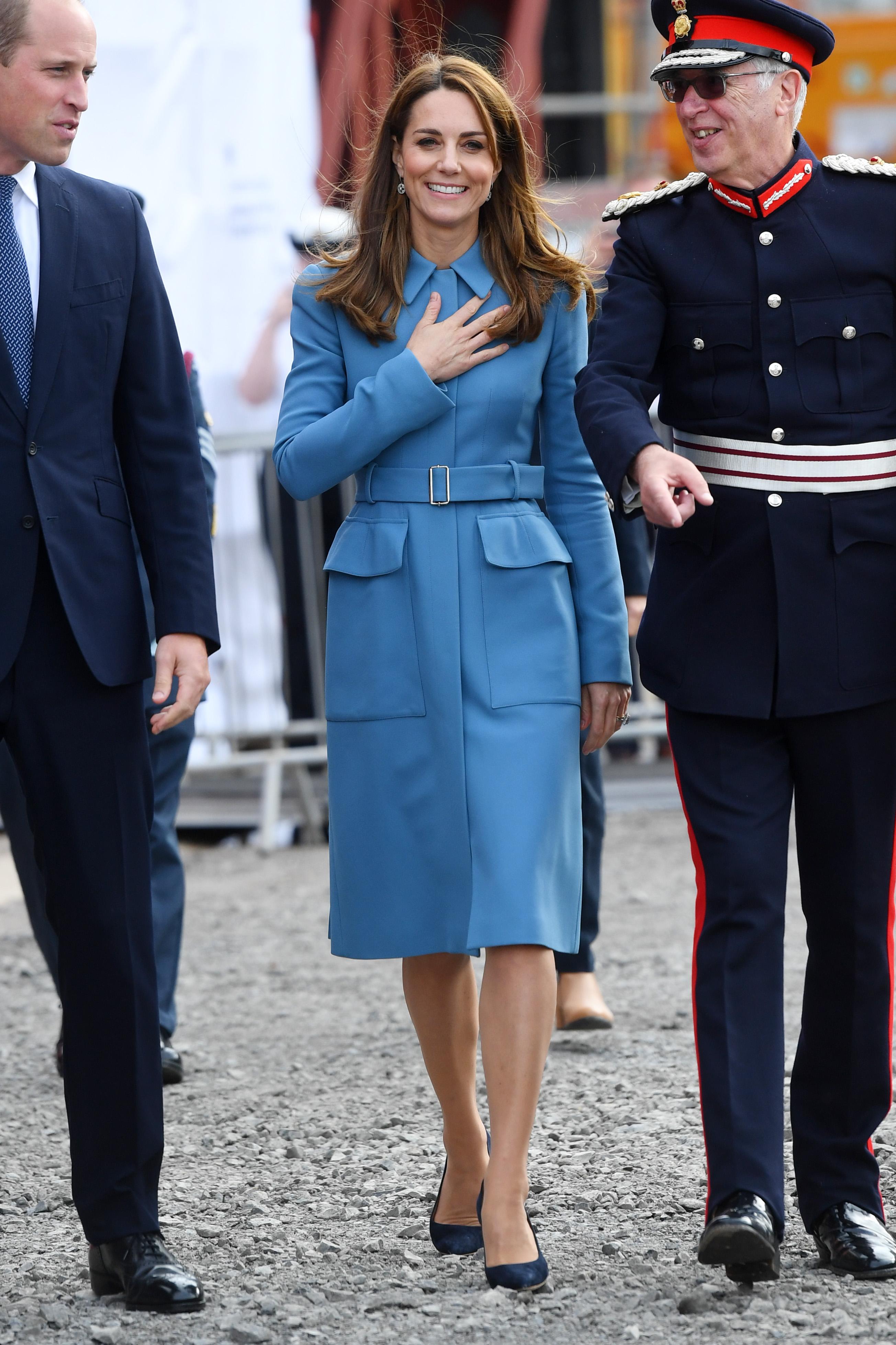 Kate Middleton - now Duchess of Cambridge of the British Royal family