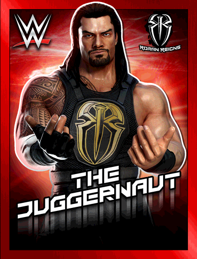 roman reigns the juggernaut