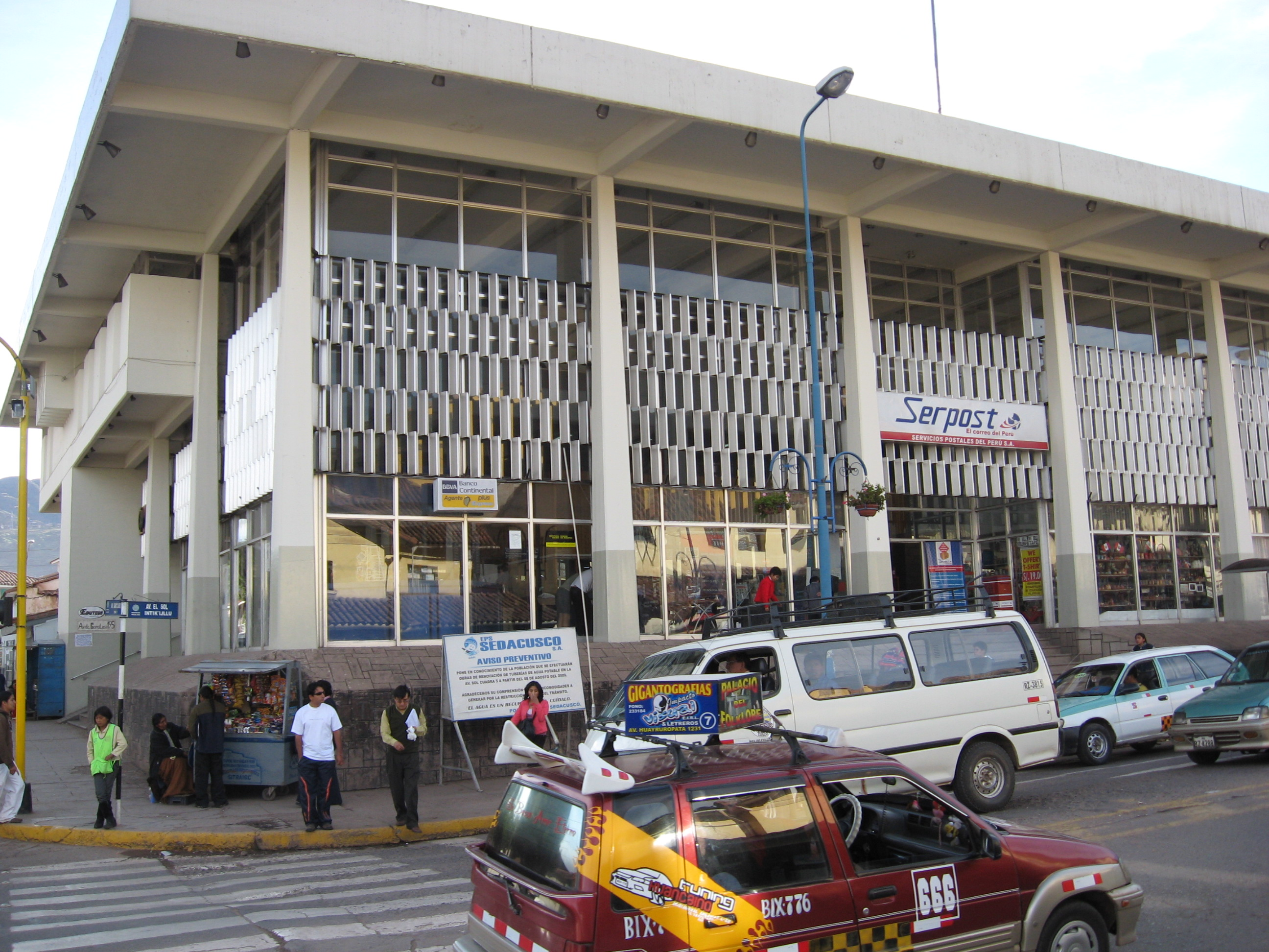 Cuzco post office