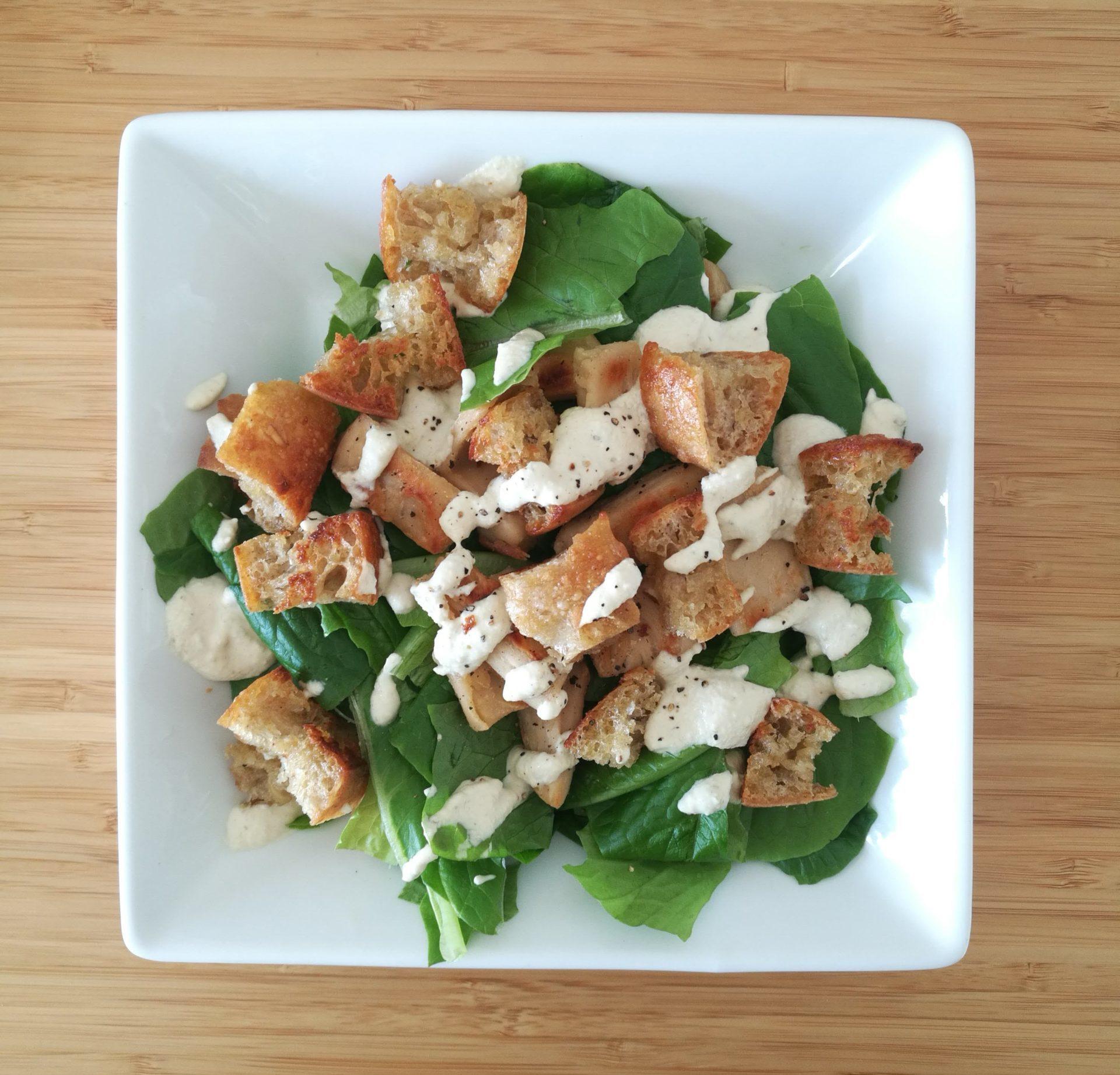 Lihaton lokakuu ja herkullinen salaattiresepti