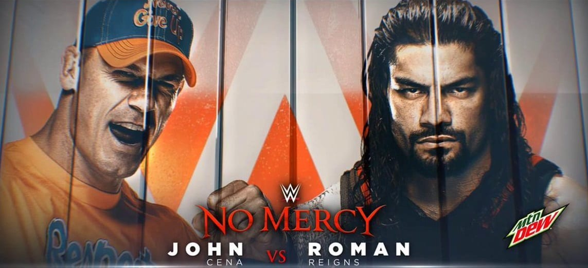 Image result for John Cena vs. Roman Reigns)