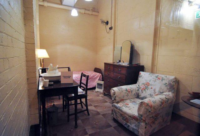 Комната жены премьер-министра - Клементины Черчилль.