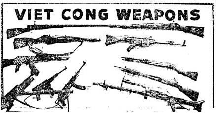 WWII German weapons during the Vietnam War