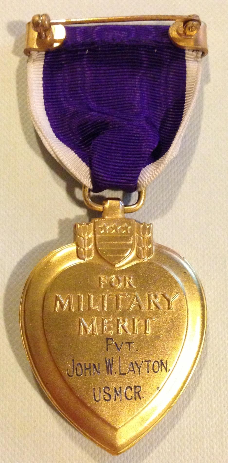 WWIIHotFindscom  Blog Archive  1932 Purple Hearts