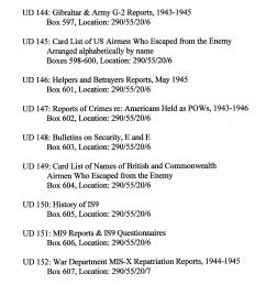 Index to Escape \u0026 Evasion Record Locations   WWII Netherlands Escape Lines [ 3052 x 1639 Pixel ]