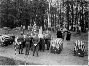 Hamm (now Luxembourg Cemetery) 1949. Photo courtesy ABMC.