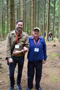 Yuri with 9th Infantry Division veteran Jack Dauner