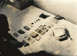 Personal effects of a deceased soldier. Source: Army Signal Corps