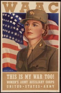 WAC This is my war Poster