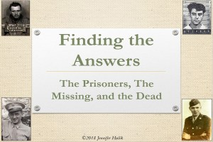 Finding the Answers: The Prisoners, The Missing and The Dead